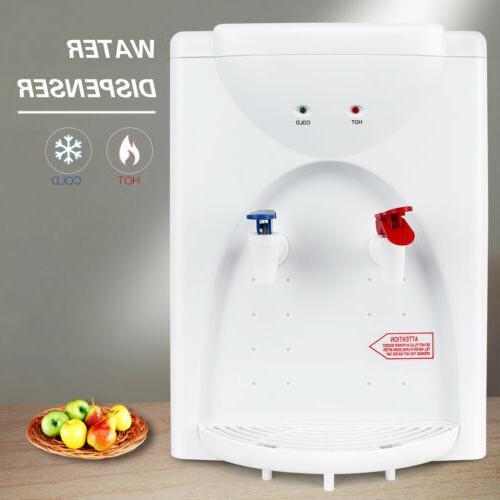 5 gallon tabletop water cooler dispenser hot