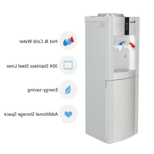 5 Gallon Top Electric Freestanding Water Cooler Dispenser