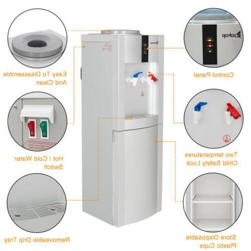 5 Electric Freestanding Water Cooler