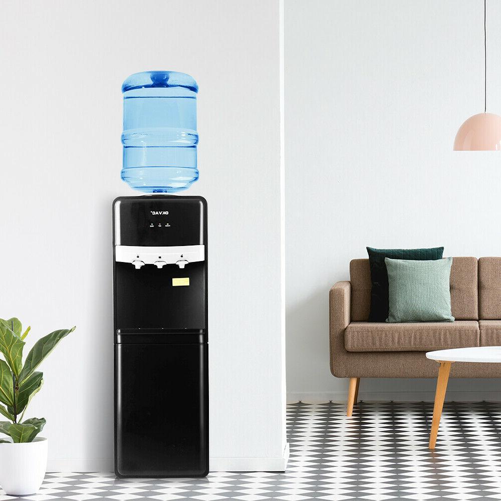 5 Gallon Loading Stainless Water Dispenser Hot Office