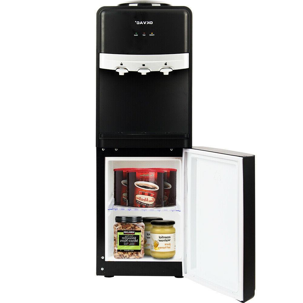 5 Gallon Loading Stainless Steel Cooler Dispenser Hot Office