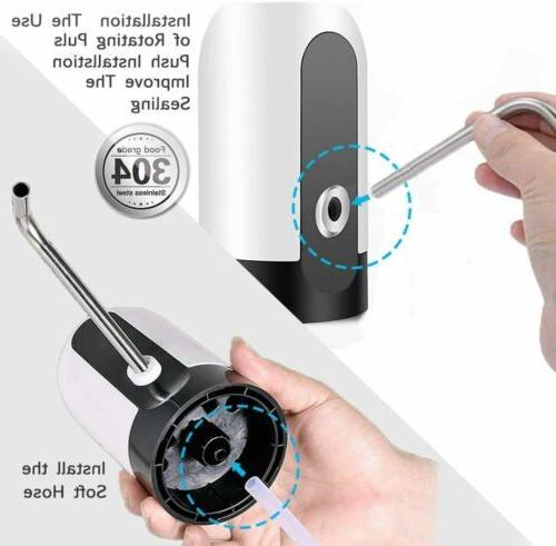 5 Bottle Jug Universal Electric Switch Pump
