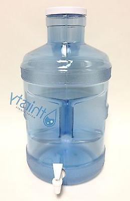 5 gallon water bottle big cap faucet