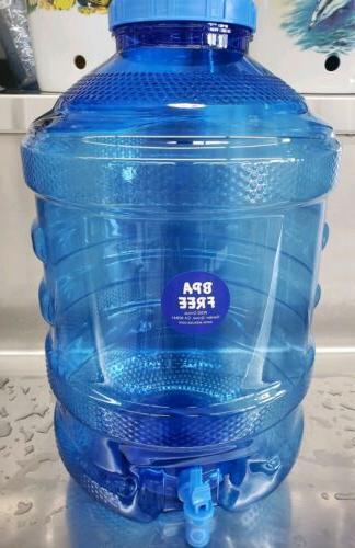 5 Gallon Bottle BPA Free Plastic Cap Faucet