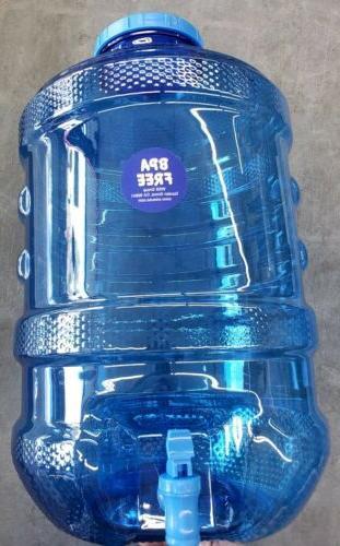 5 Gallon Water BPA Cap w/ Faucet Dispenser