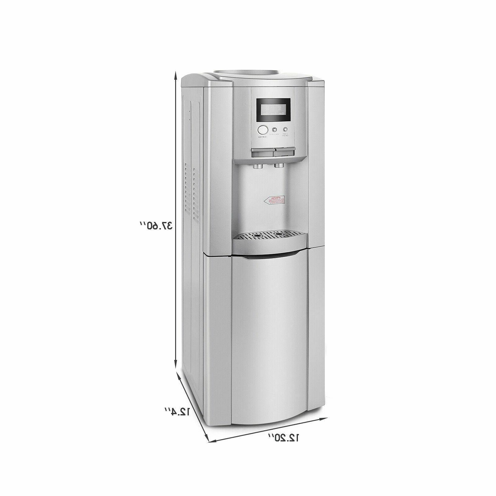 5 Water Cooler Hot Tanks Bottom Storage Cabinet