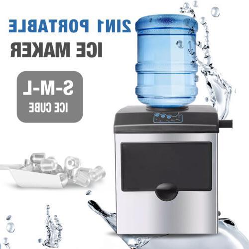 2in1 Built-In Gallon Water Dispenser Countertop Steel