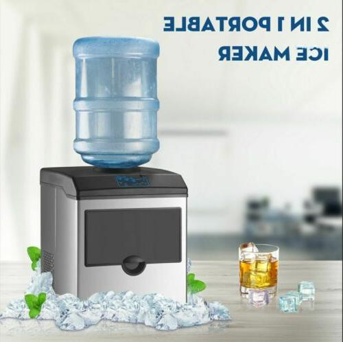 2in1 built in electric ice maker machine