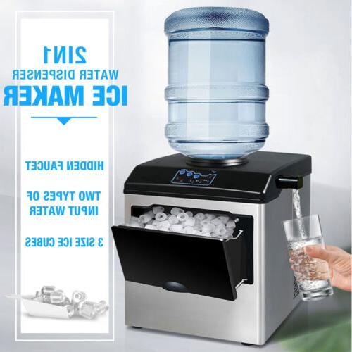 2in1 Built-In 5 Gallon Water Dispenser Ice Maker Countertop