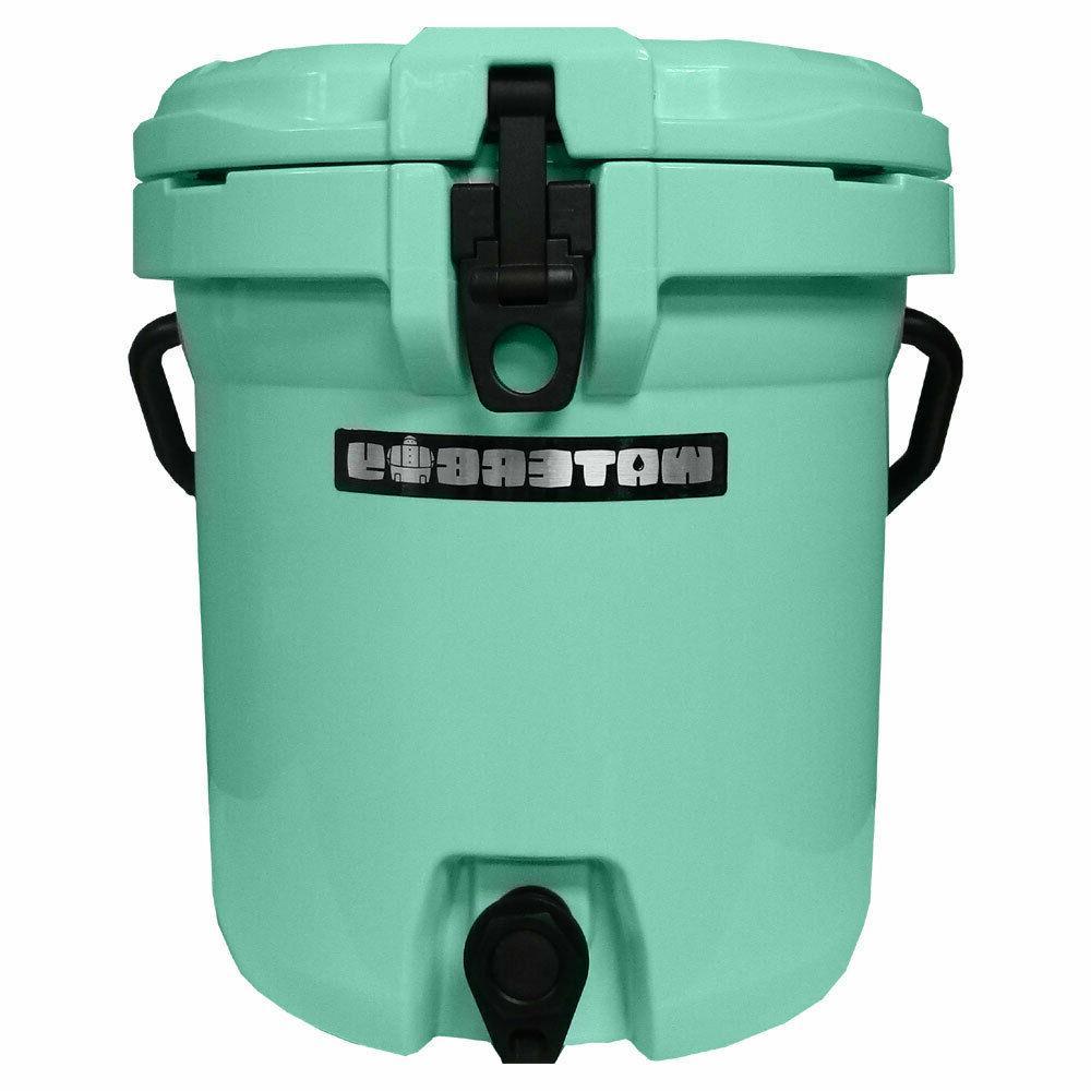 Fatboy Waterboy Water Jug Cooler White, Seafoam, Gray, Orange