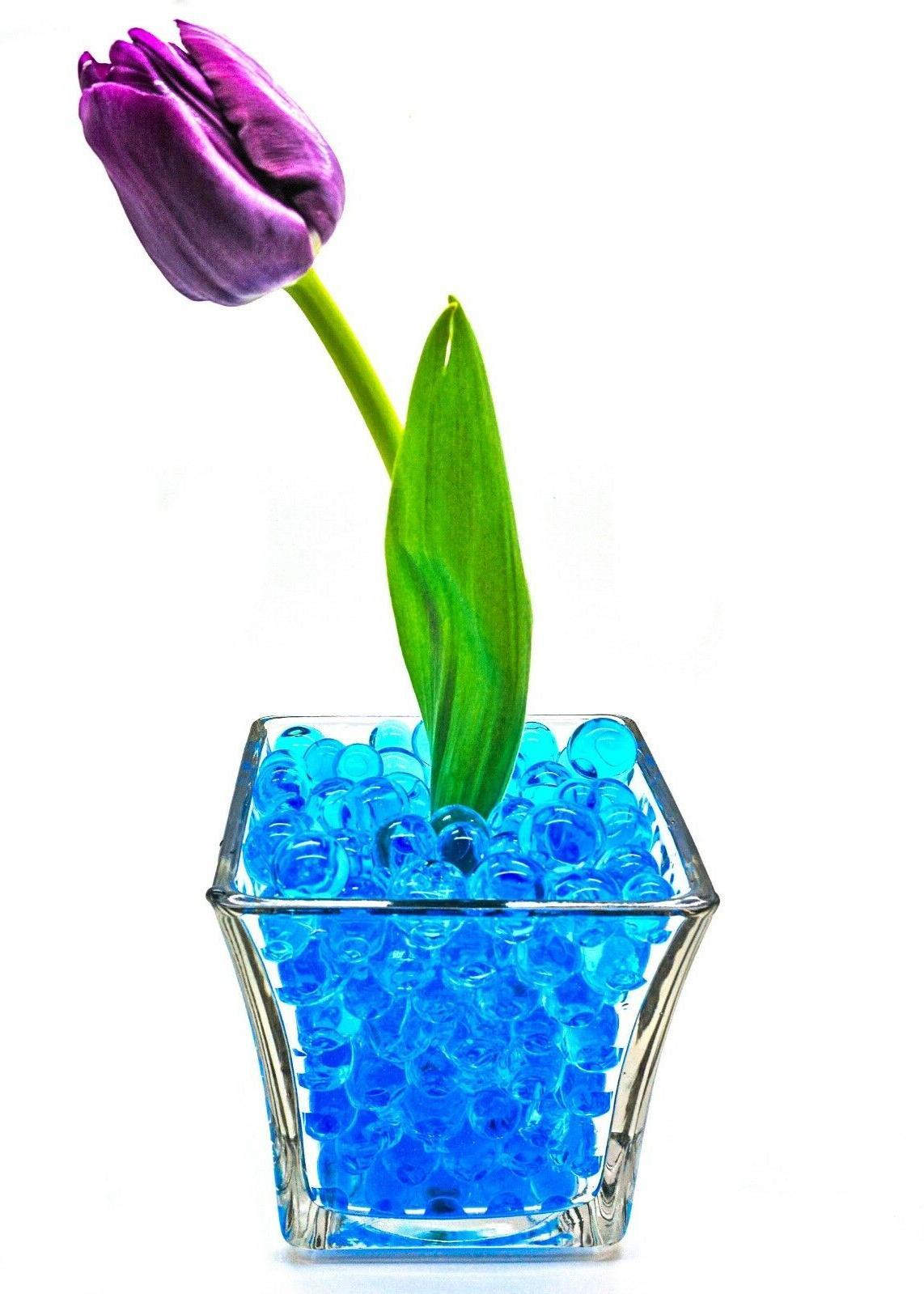 5 gallons blue vase filler gel water