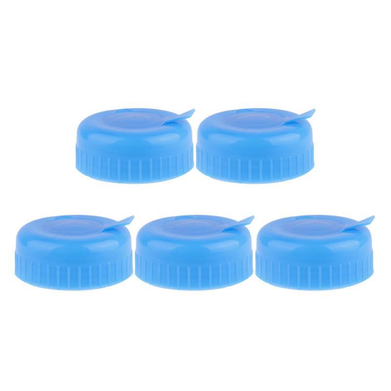 5Pcs Gallon Bottle Reusable Replacement Anti Lids