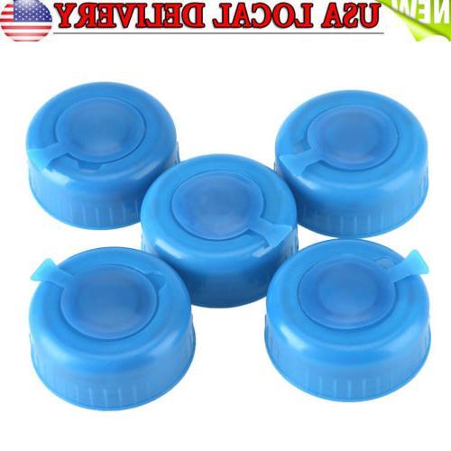 5x 55mm Bottle Cap Reusable Peel Tops