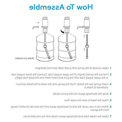 TeraPump Universal Drinking Water Any Bottle, bottle