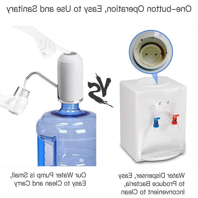 Water Drinking Water <font><b>5</b></font> <font><b>Gallon</b></font> Dispenser Usb Charging Water Dispenser