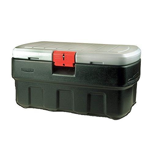Rubbermaid Storage Box, x 20-1/2, Black