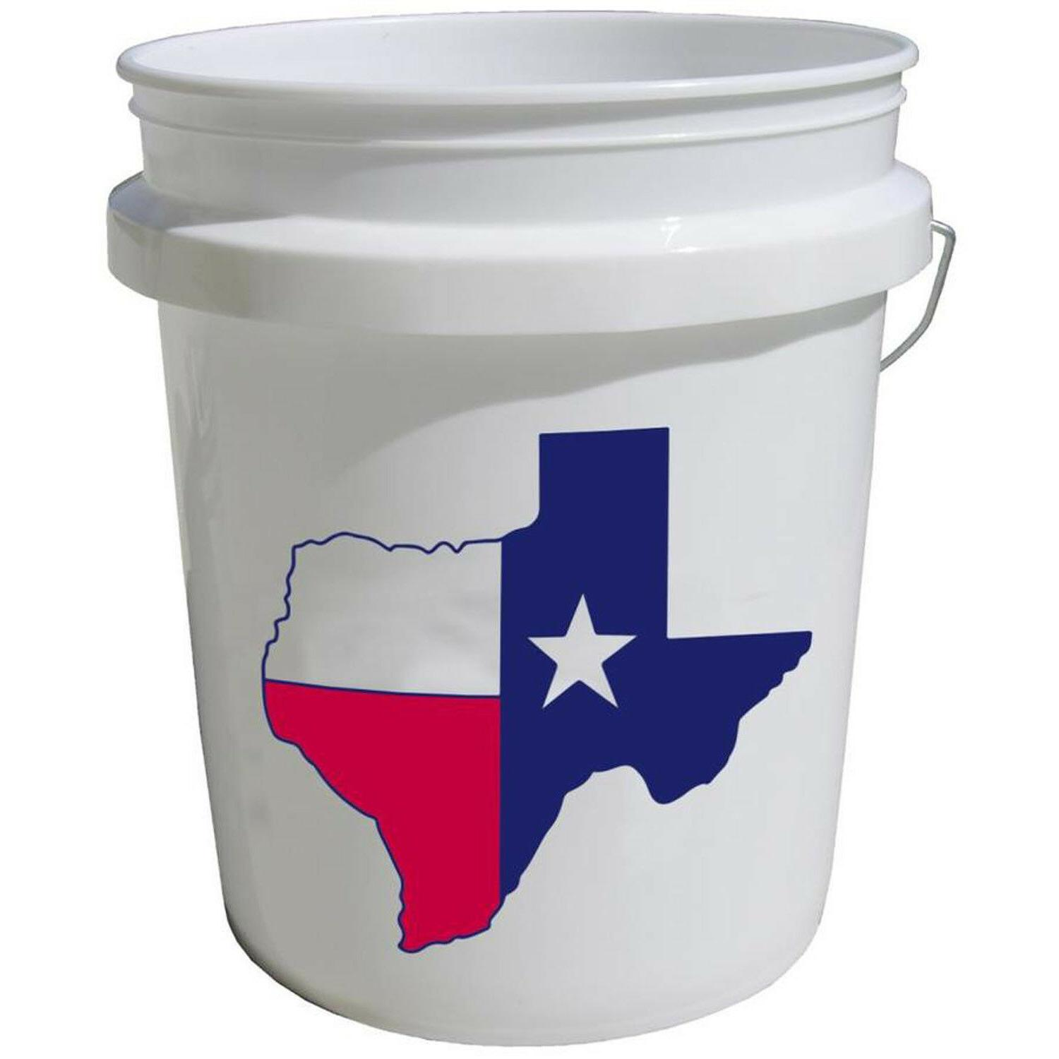5 Gallon Bucket All Grade White