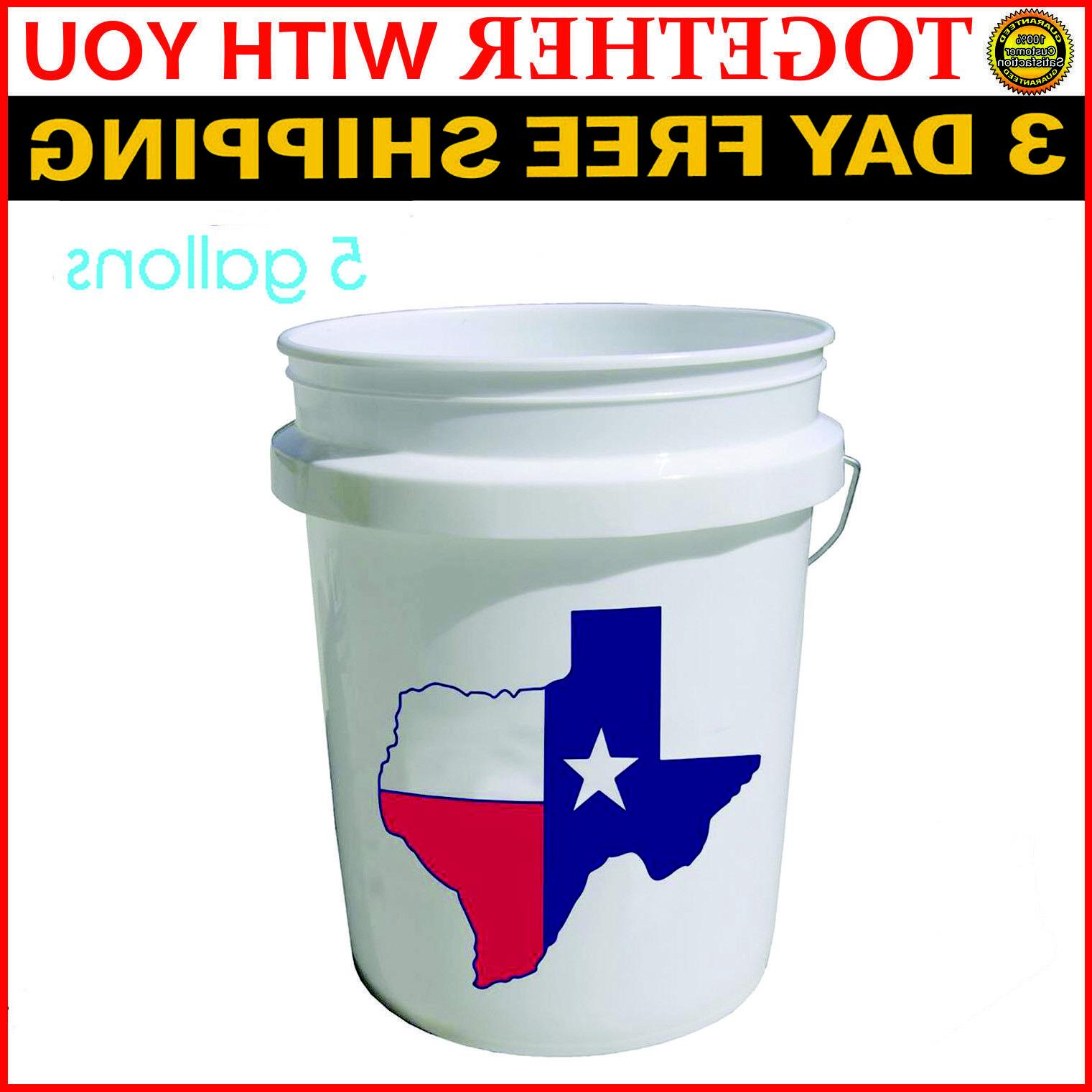 5 Plastic Bucket All Purpose Grade Storage