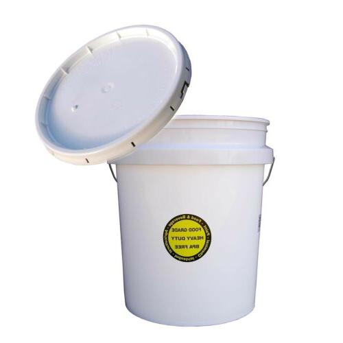 all purpose plastic bucket lid 5 gallon