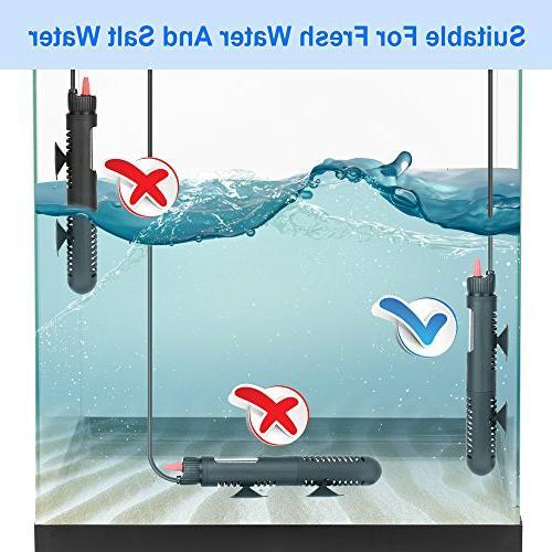 DaToo Aquarium Heater Tank 50 Watt, 1
