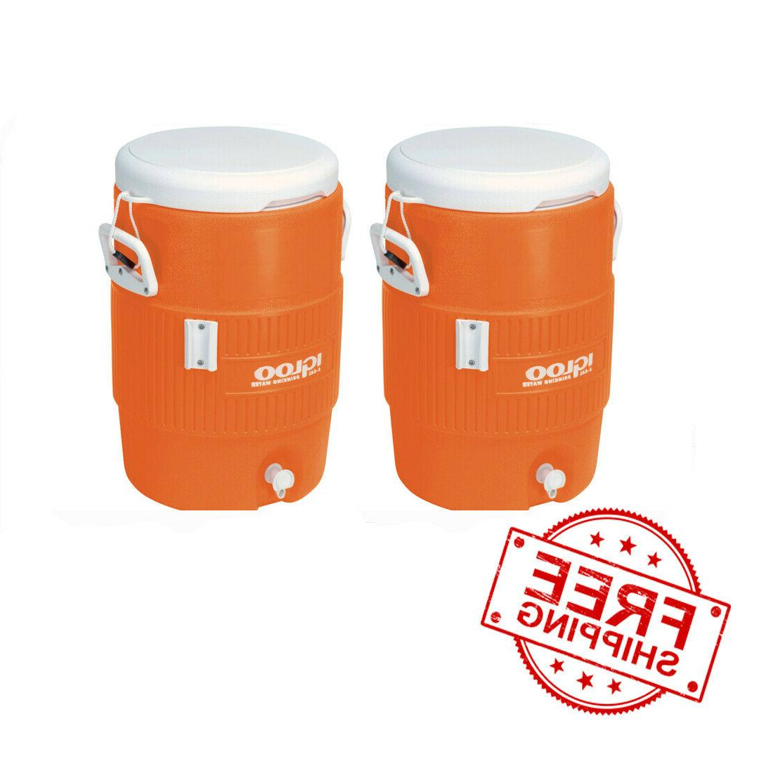 beverage cooler 2 pack 5 gallon heavy