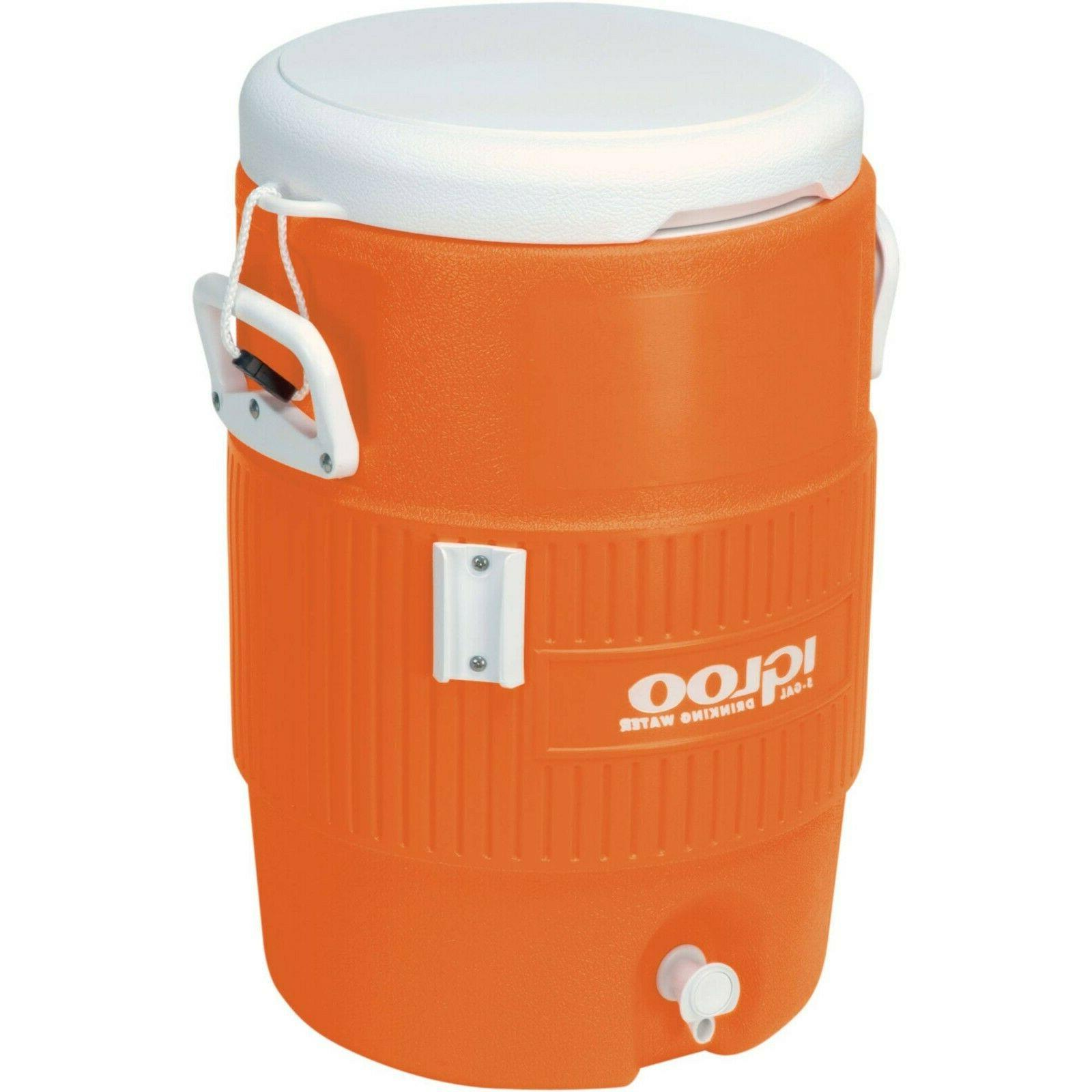5-Gallon Water Cooler Beverage Sports Outdoor Summer Work Co