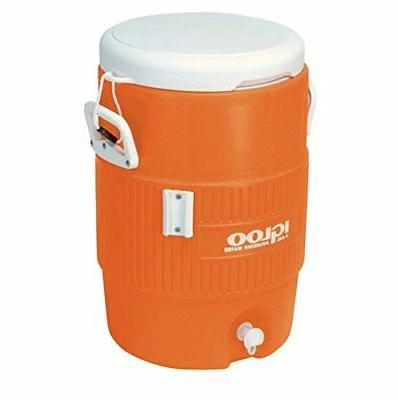 Igloo 5 Gallon Seat Top Insulated Water Cooler Beverage Disp