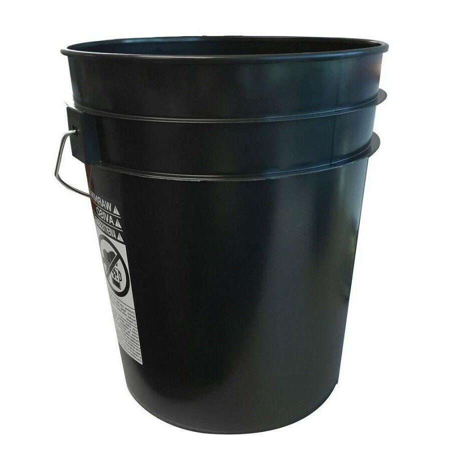 Argee 5 Gallon Black Bucket 10-Pack