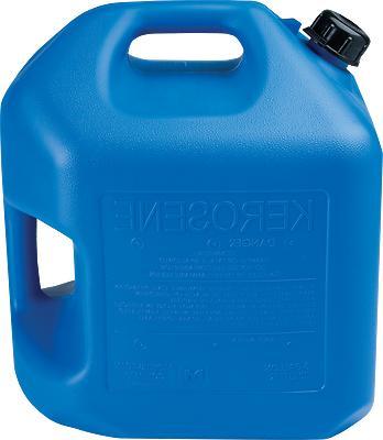 5 GALLON BLUE KEROSENE CAN  - MIDWEST P# 7600