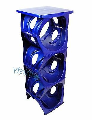 Blue Stand 3 Gallon Tier Stack Table