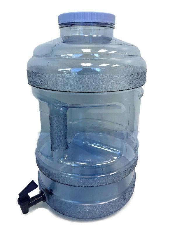 BPA Water Big-Mouth & Valve Spigot