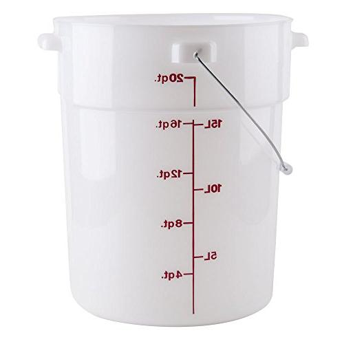 5 Gallon Bucket for Marinading - Disposable Pail 25 per roll