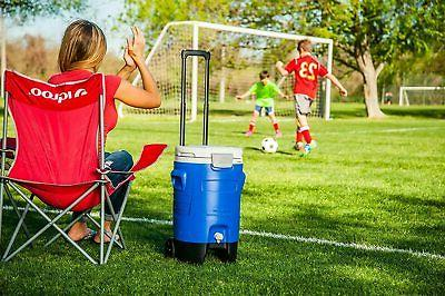 Camping Cooler Beverage Roller Chests Portable Gallon
