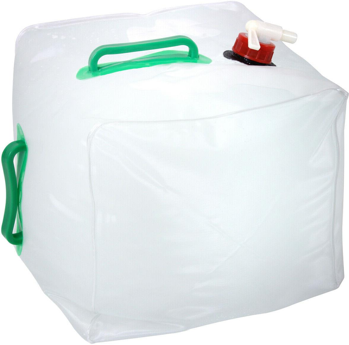 Camping Outdoor Boy Scout Clear 5 Gallon Collapsible Water S