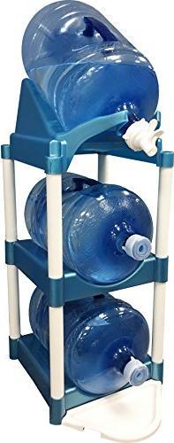Bottle Buddy Cascada Pour & Store System, Blue