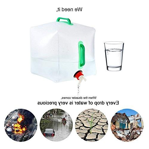 - Cube Bag Food Water for Hiking