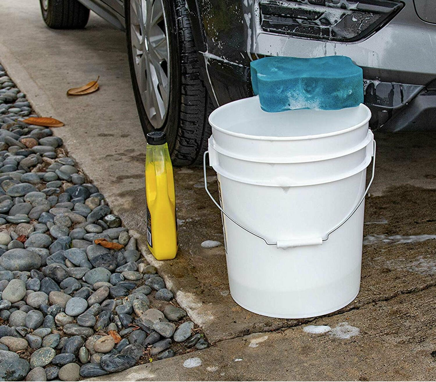 COMMERCIAL BUCKET with LID 5 Gallon Paint
