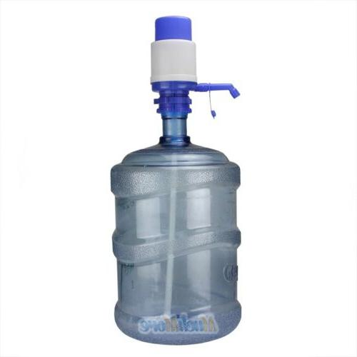 Easy Manual Press Dispenser Water Gallon Bottled Drinking US