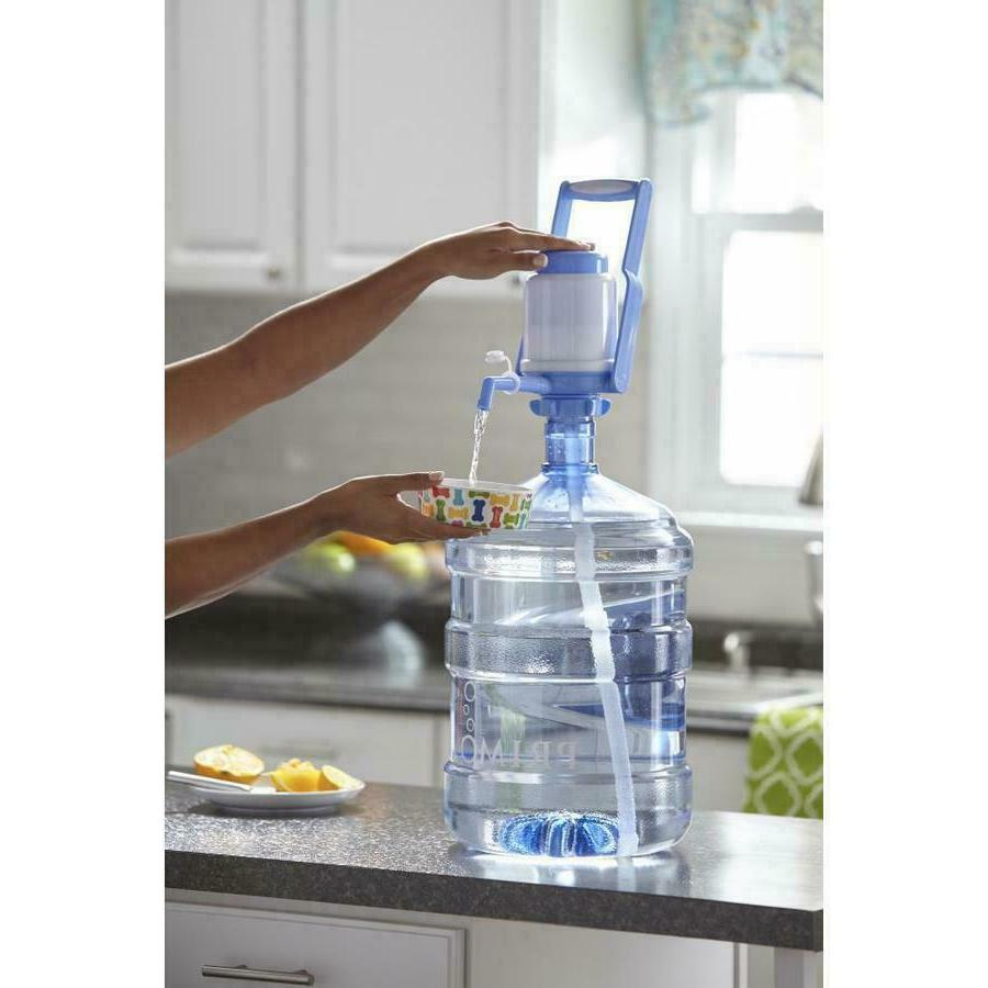 Easy Manual Press Dispenser Water Pump 3 to Bottled Drinking Water