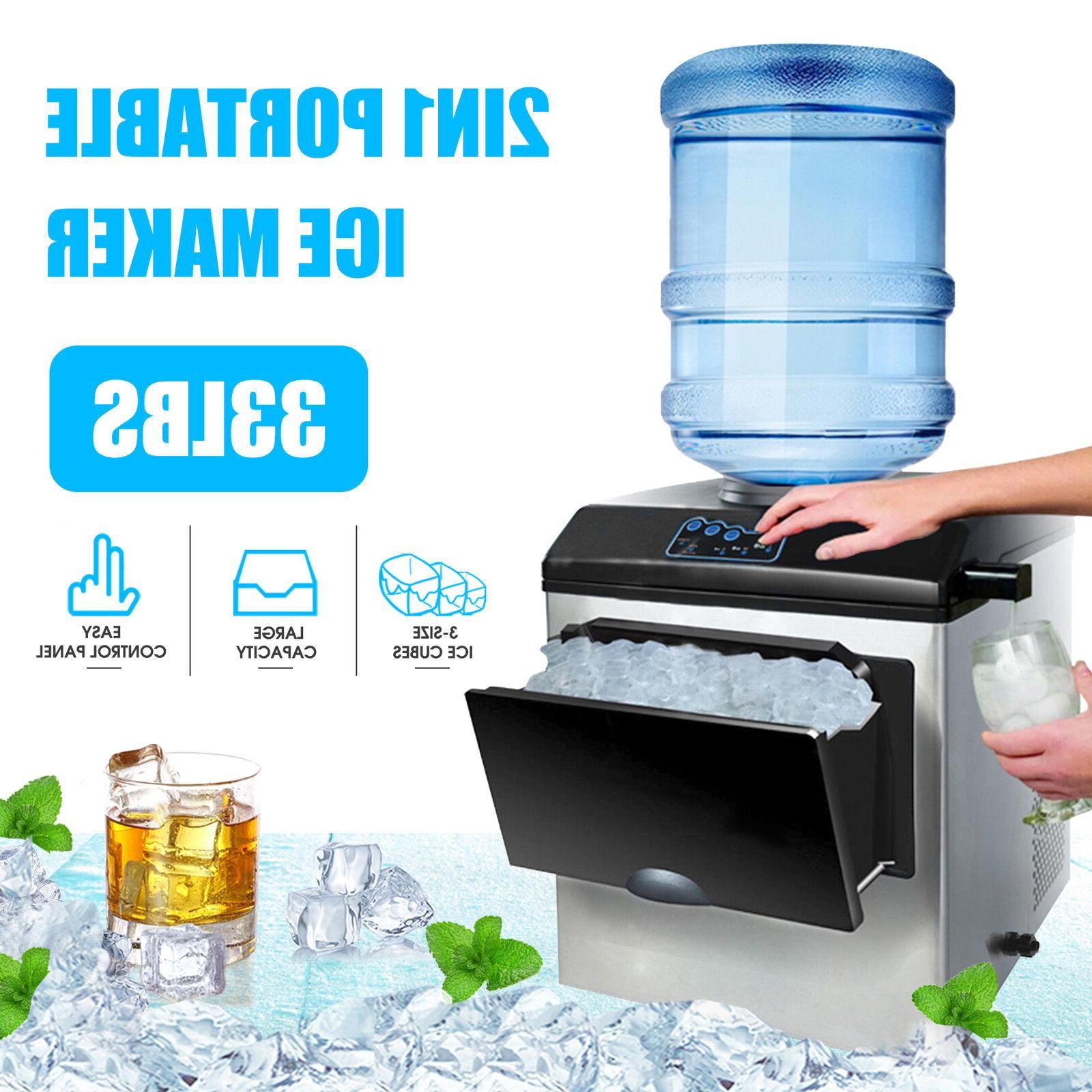 5 gallon water dispenser w 40lbs built
