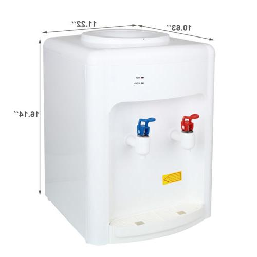 5 Top Water Cooler Dispenser Hot/Cold Bottle