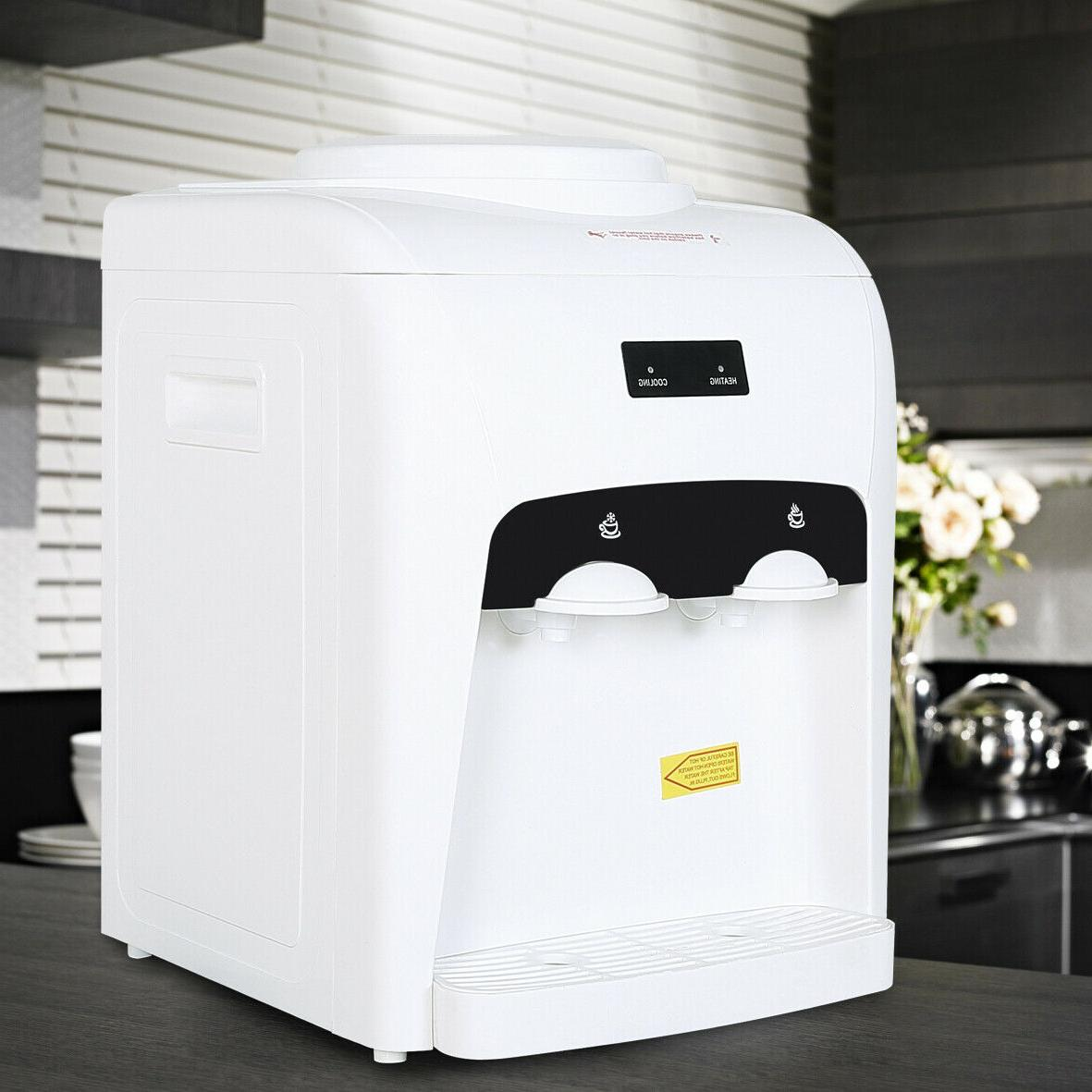 Electric Water Dispenser Gallon Hot Cold Cooler