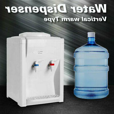 3-5 Gallon Electric Hot Cold Water Cooler Dispenser Desktop
