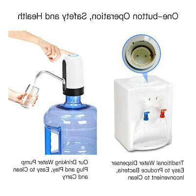5 Bottle Dispenser Automatic Universal Electric Switch