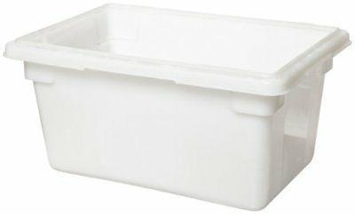fg350400wht 5 gallon white food tote box