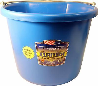Fortex Industries Inc Flat Back Bucket Economy Fb-1- Blue 20