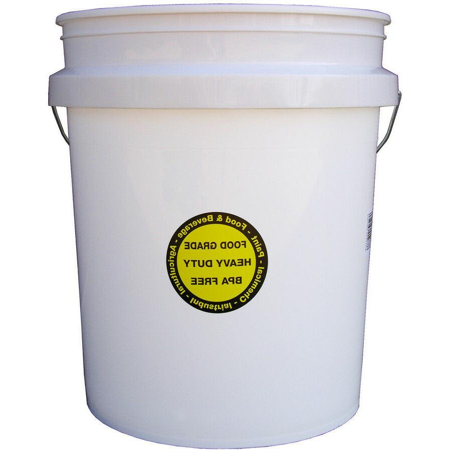 FOOD GRADE PLASTIC BUCKET GALLON Durable all Paint