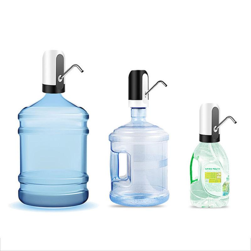 Gallon Water Bottle Jug Electric Pump Dispenser Camping