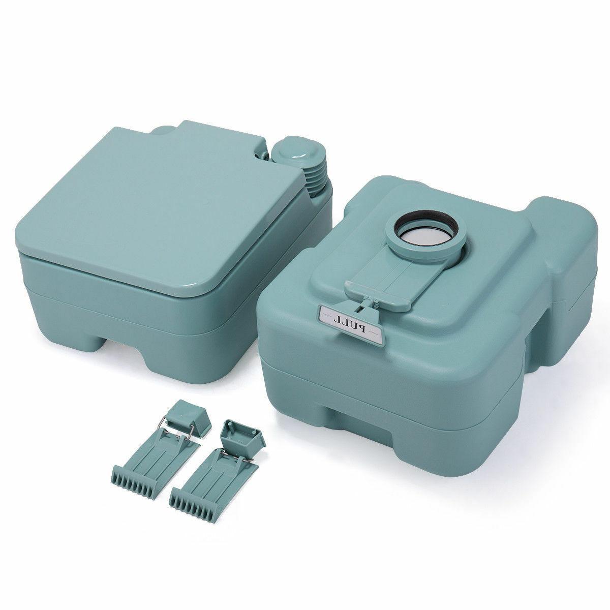 Green Toilet Flush Travel