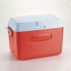 Rubbermaid Home 48qt Red Family Size Ice Chest 2 Pack